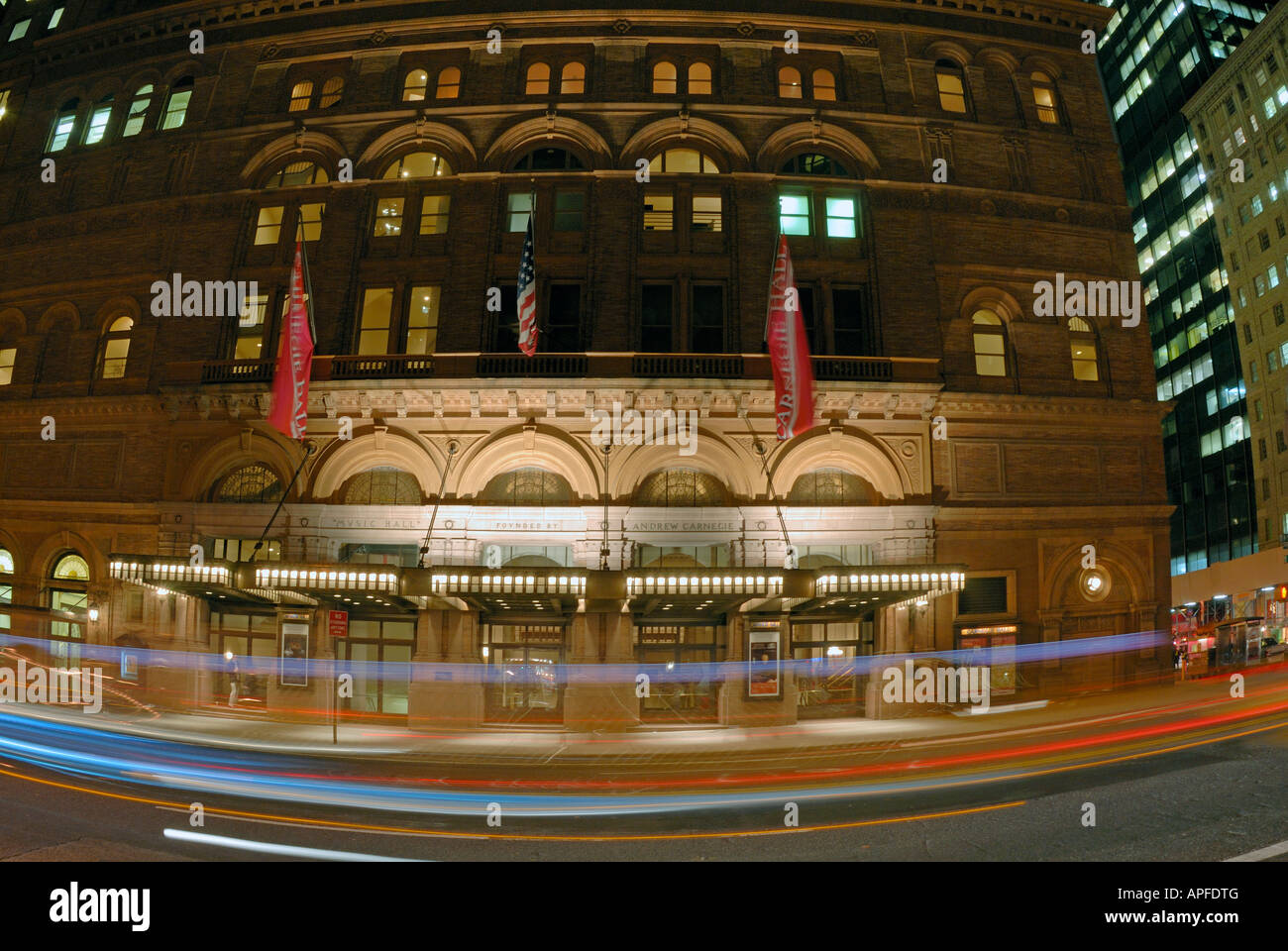 Carnegie Hall New York - Stock Image