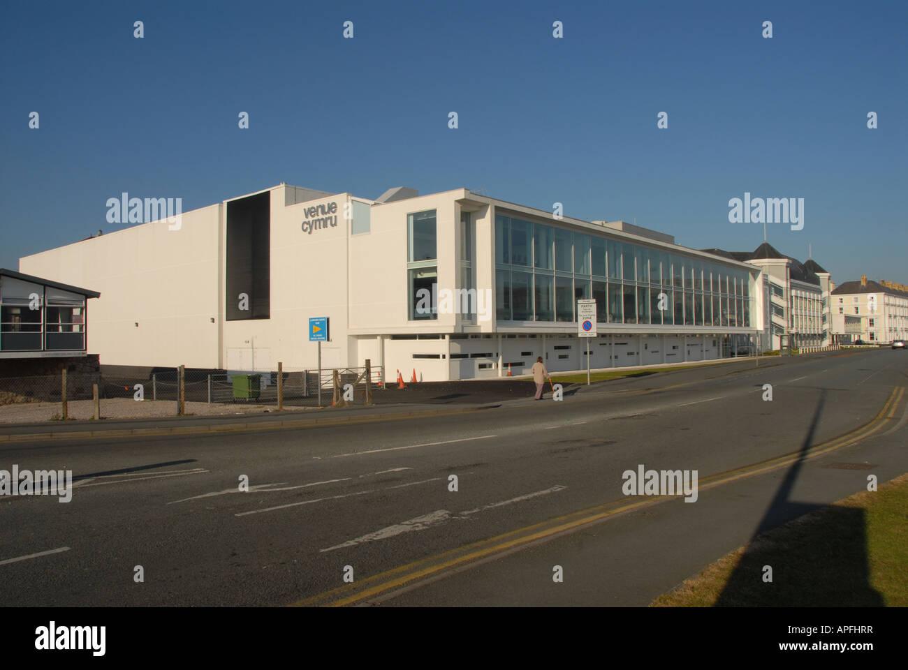 Venue Cymru Exhibition and Conference Centre Llandudno Stock Photo