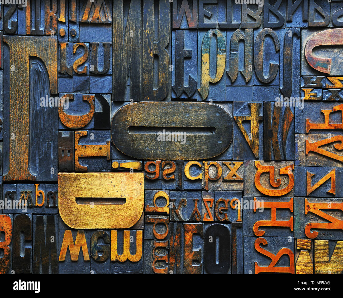 CONCEPT PHOTOGRAPHY: The Word - Stock Image