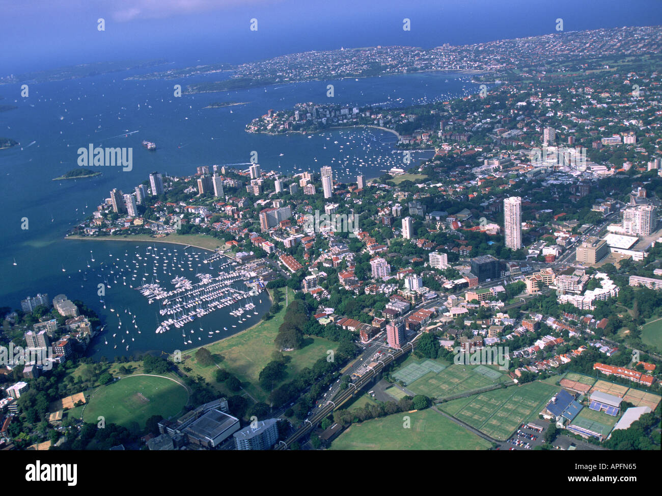 SYDNEY HARBOURS - Stock Image