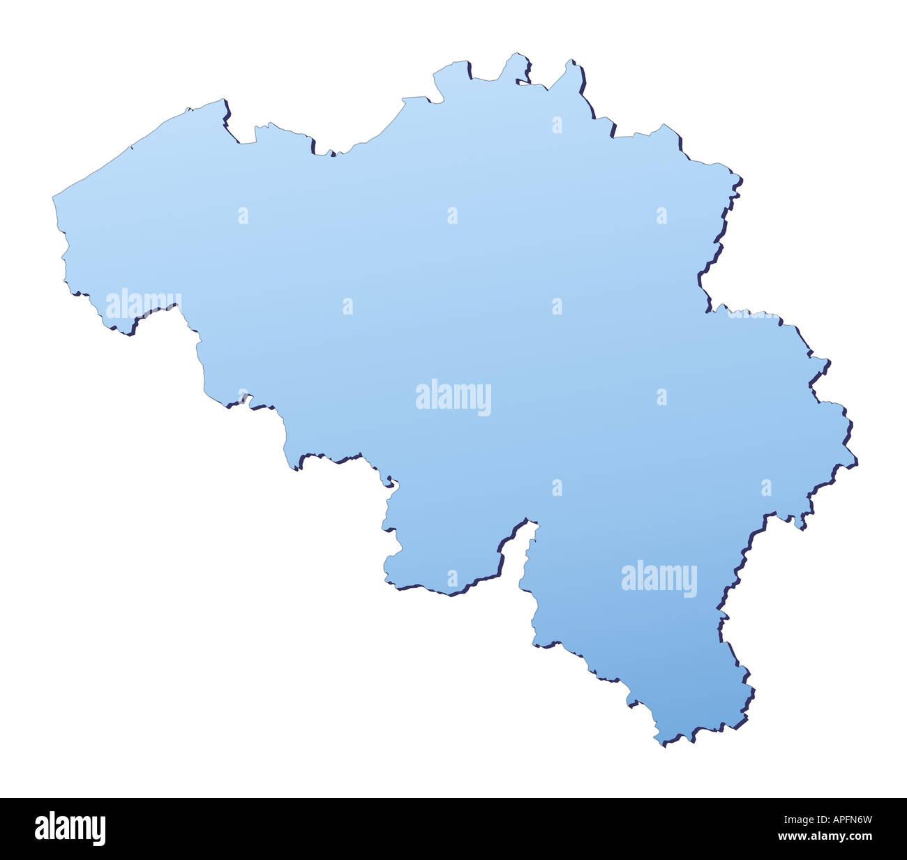 Belgium Map Stock Photos & Belgium Map Stock Images - Alamy