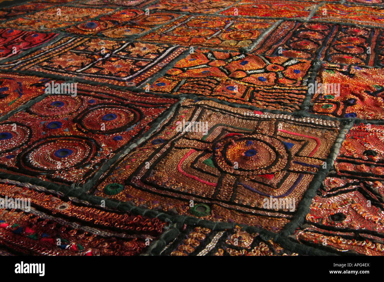 Indian Tapestry - Stock Image