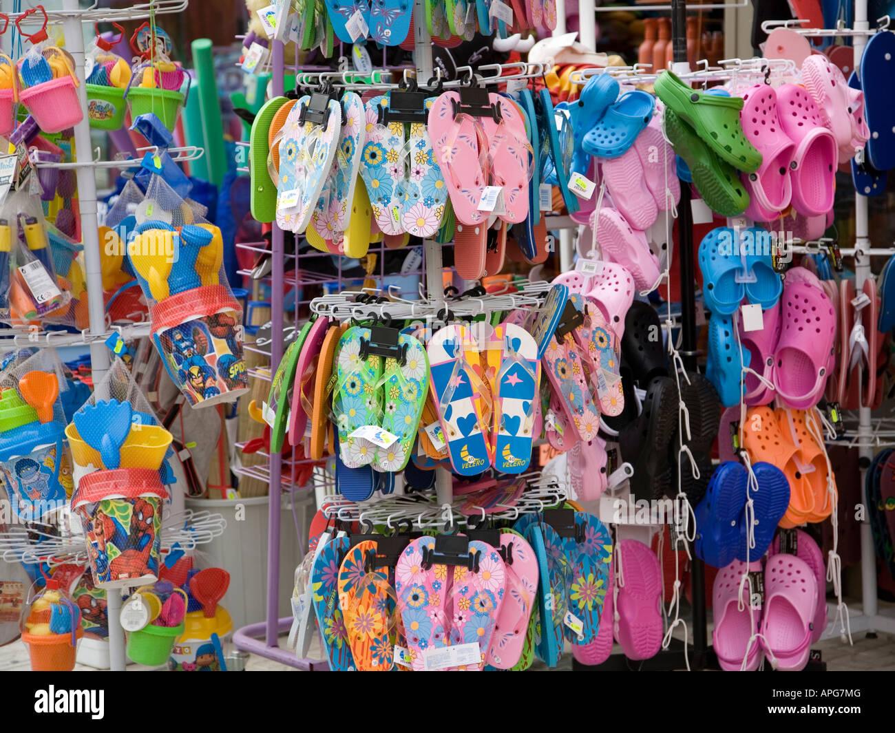 d4780b687bed Flip Flop Shop Stock Photo  15782943 - Alamy