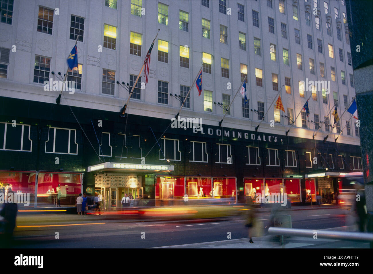 Bloomingdales Department Store Shop On 59th Street And Lexington Avenue
