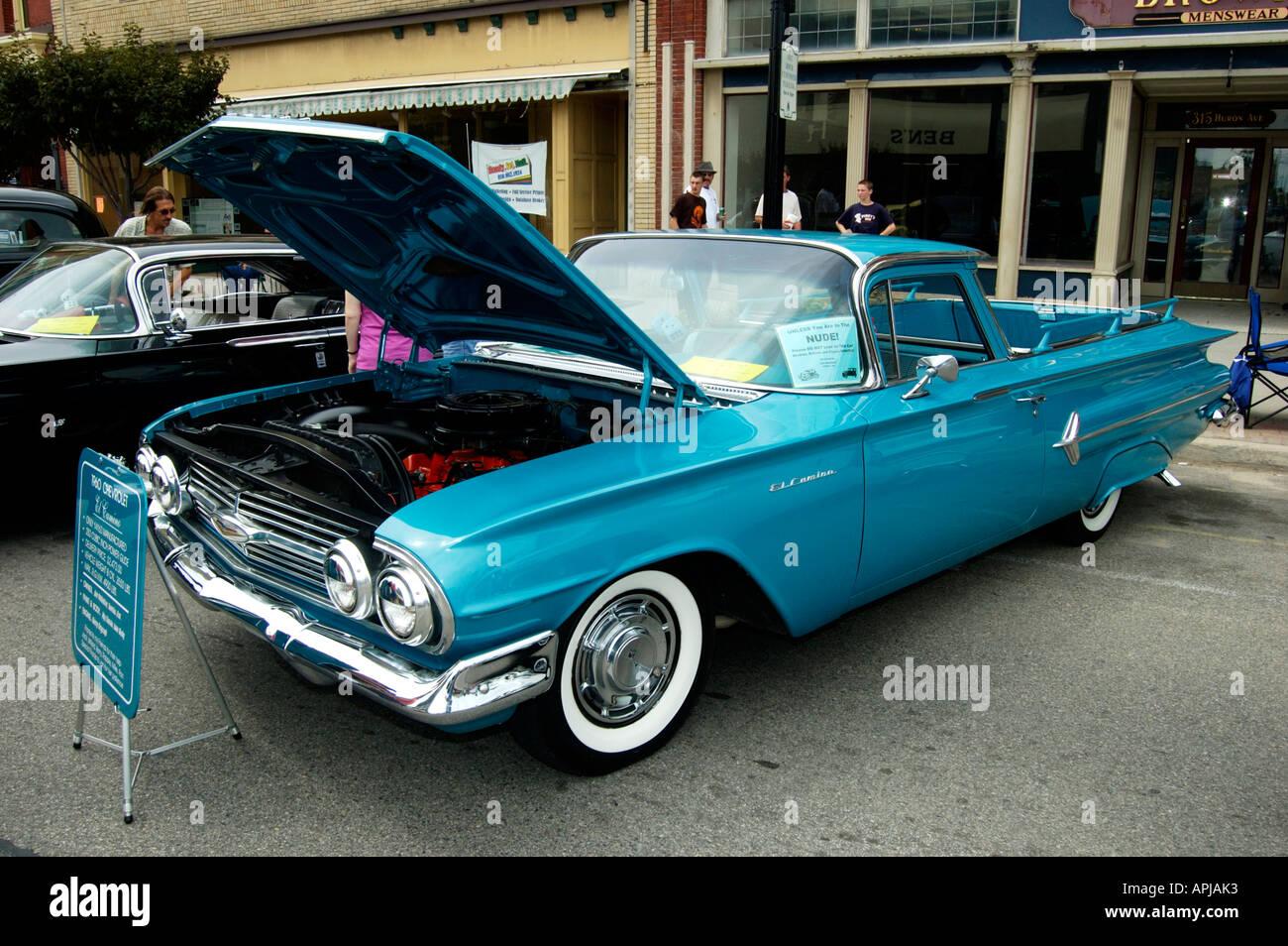 1960 Chevy El Camino 283 - Stock Image