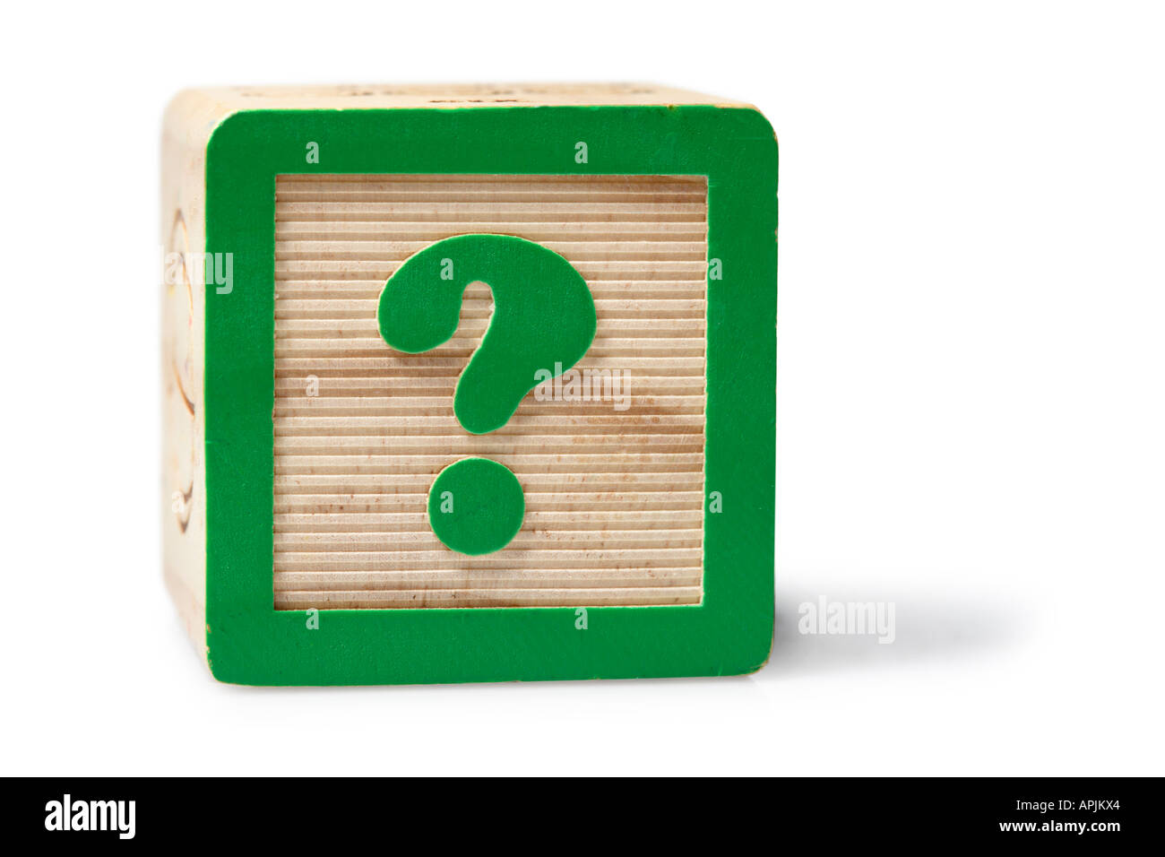 Question Mark Block - Stock Image