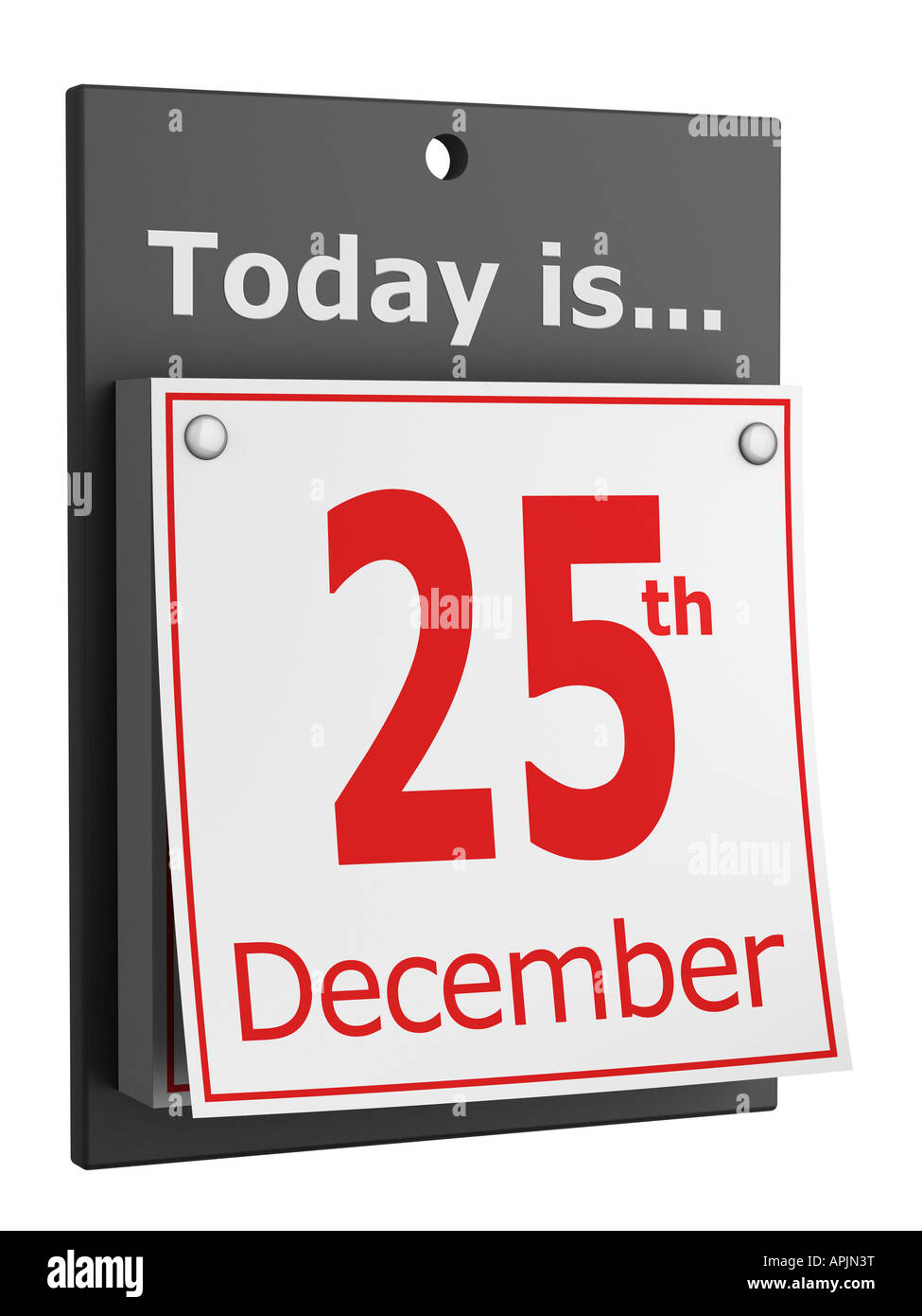 Christmas day 25th December Stock Photo: 15806267 - Alamy