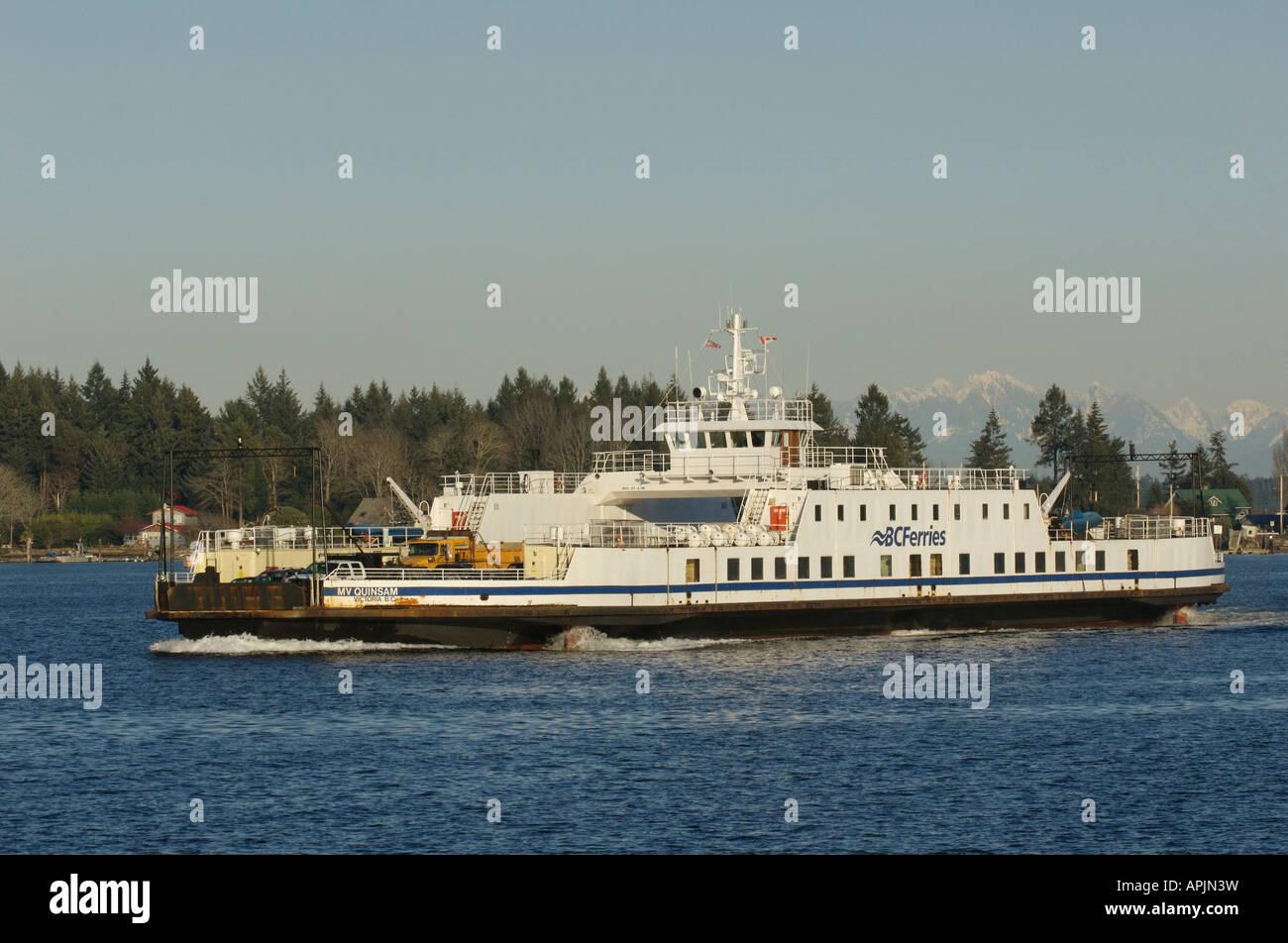 Ferry From Horseshoe Bay To Gabriola Island