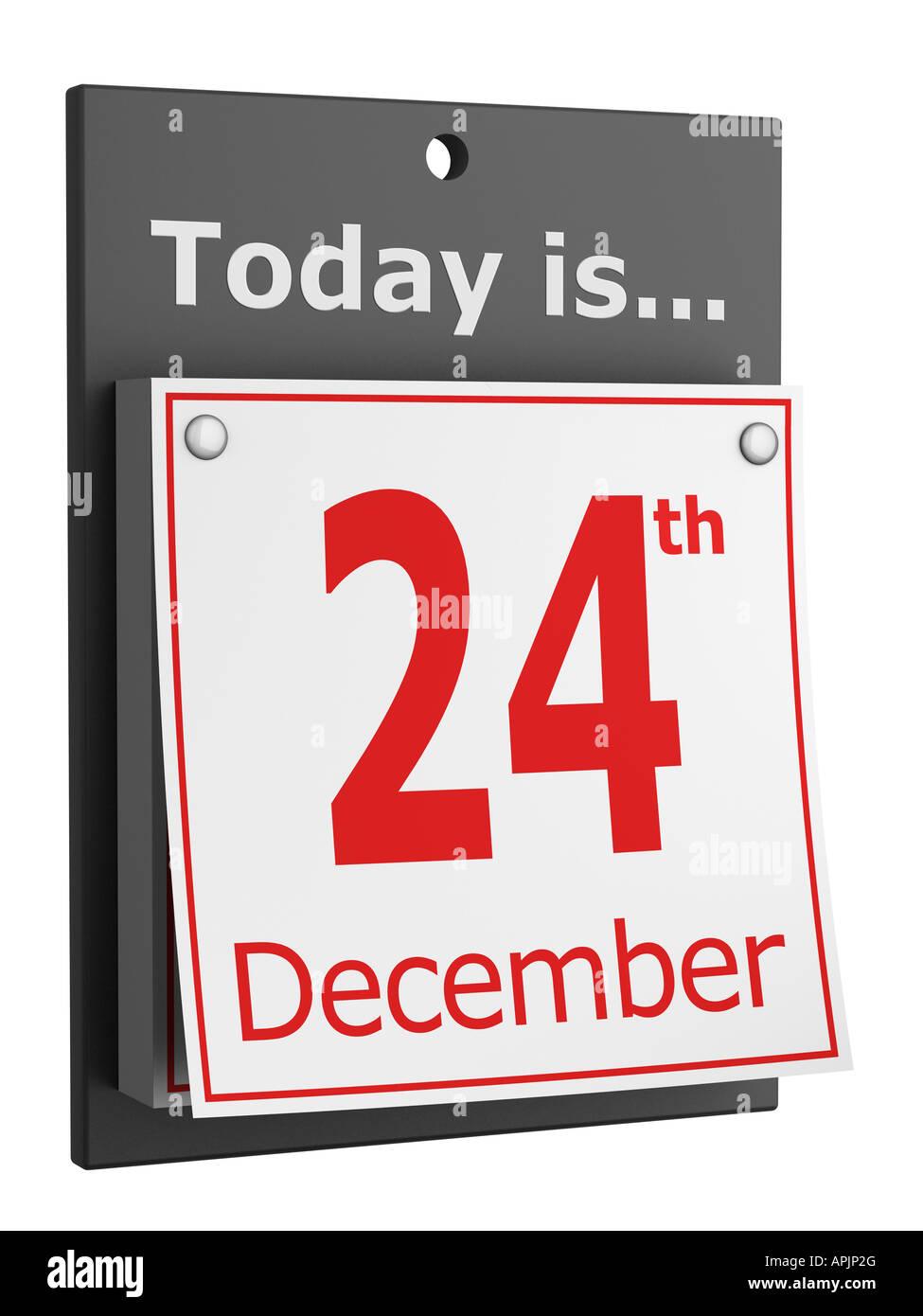 24th December Christmas Eve Stock Photo: 15806583 - Alamy