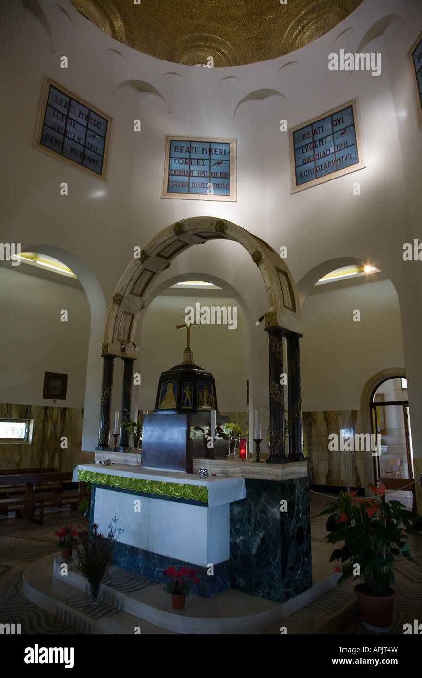 Stock Photo of The Church at Mount of Beatitudes Stock Photo
