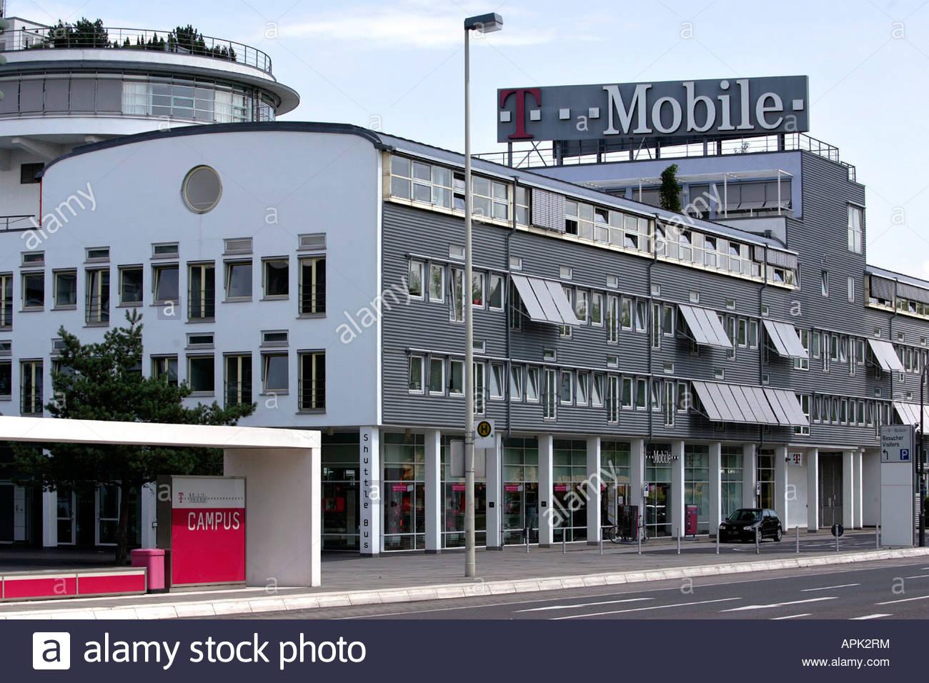 Zentrale T Mobile Bonn Stock Photo 15809527 Alamy