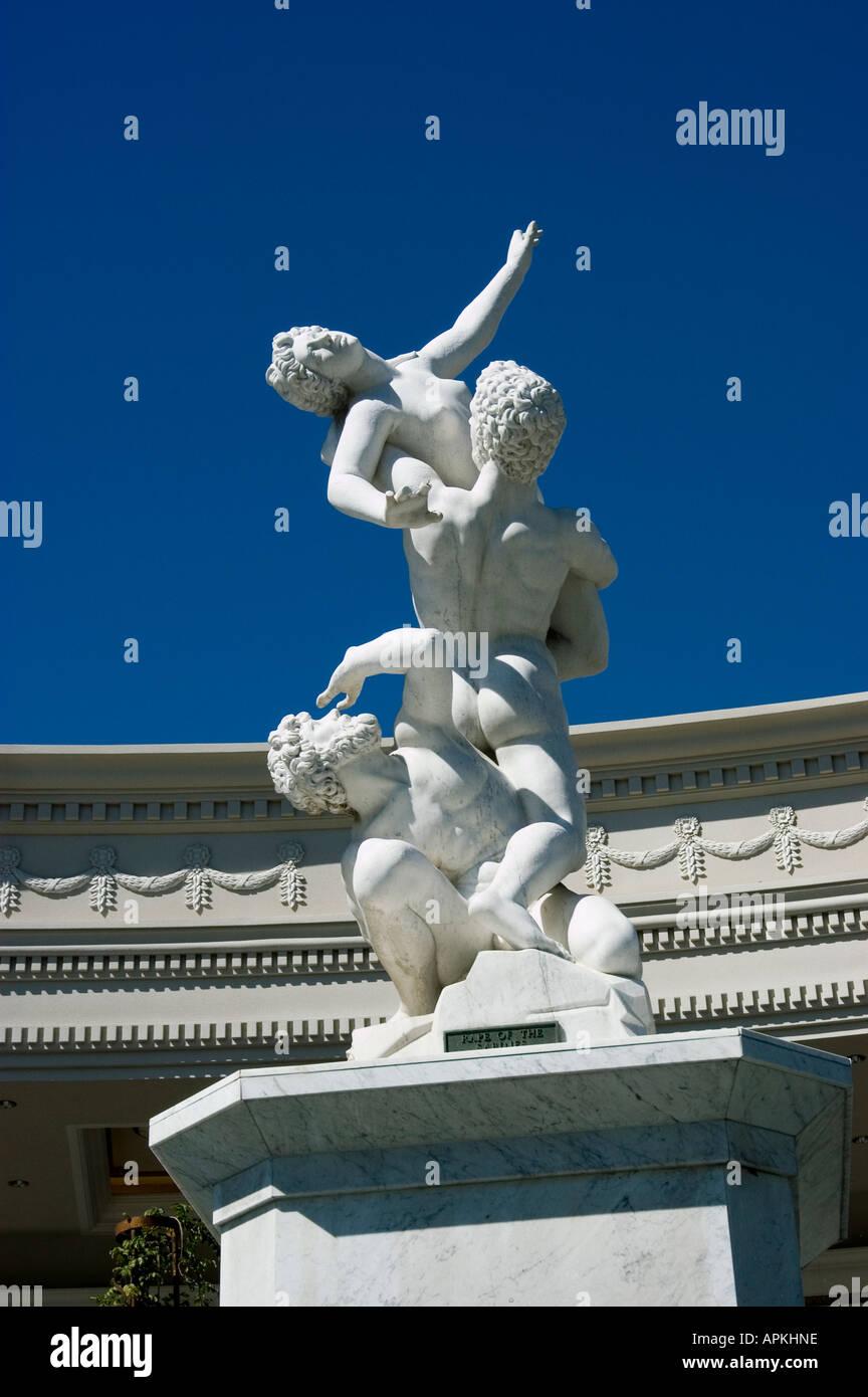 A statue at Caesars in Las Vegas Nevada NV - Stock Image