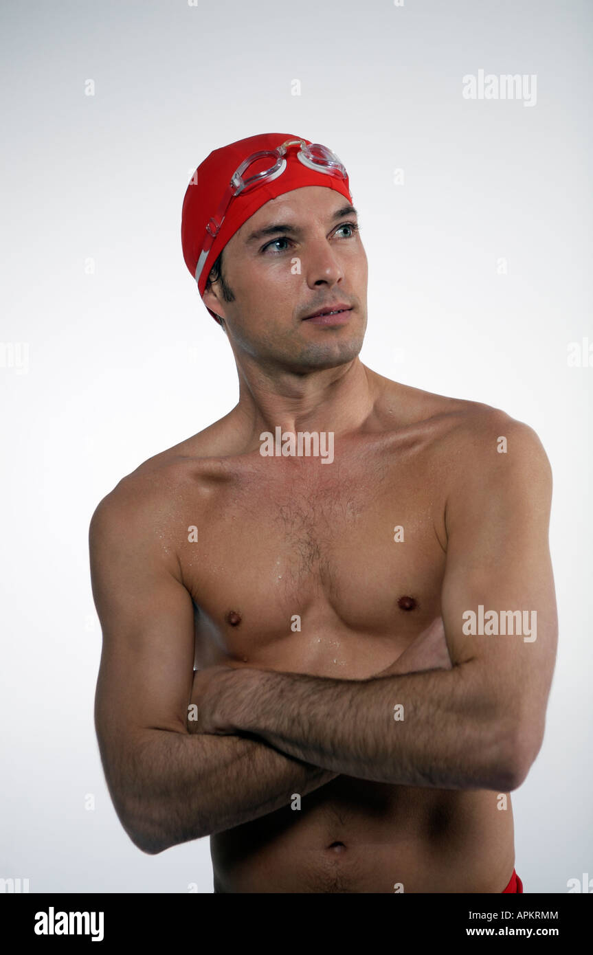 Profesional Swimmer - Stock Image
