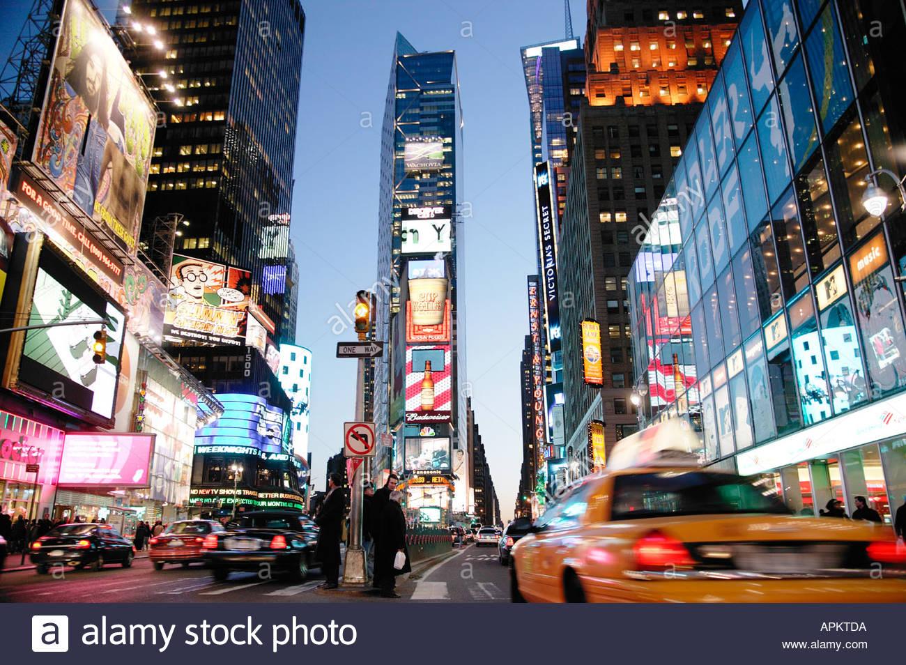 Times Square. (NYC, New York, USA) - Stock Image