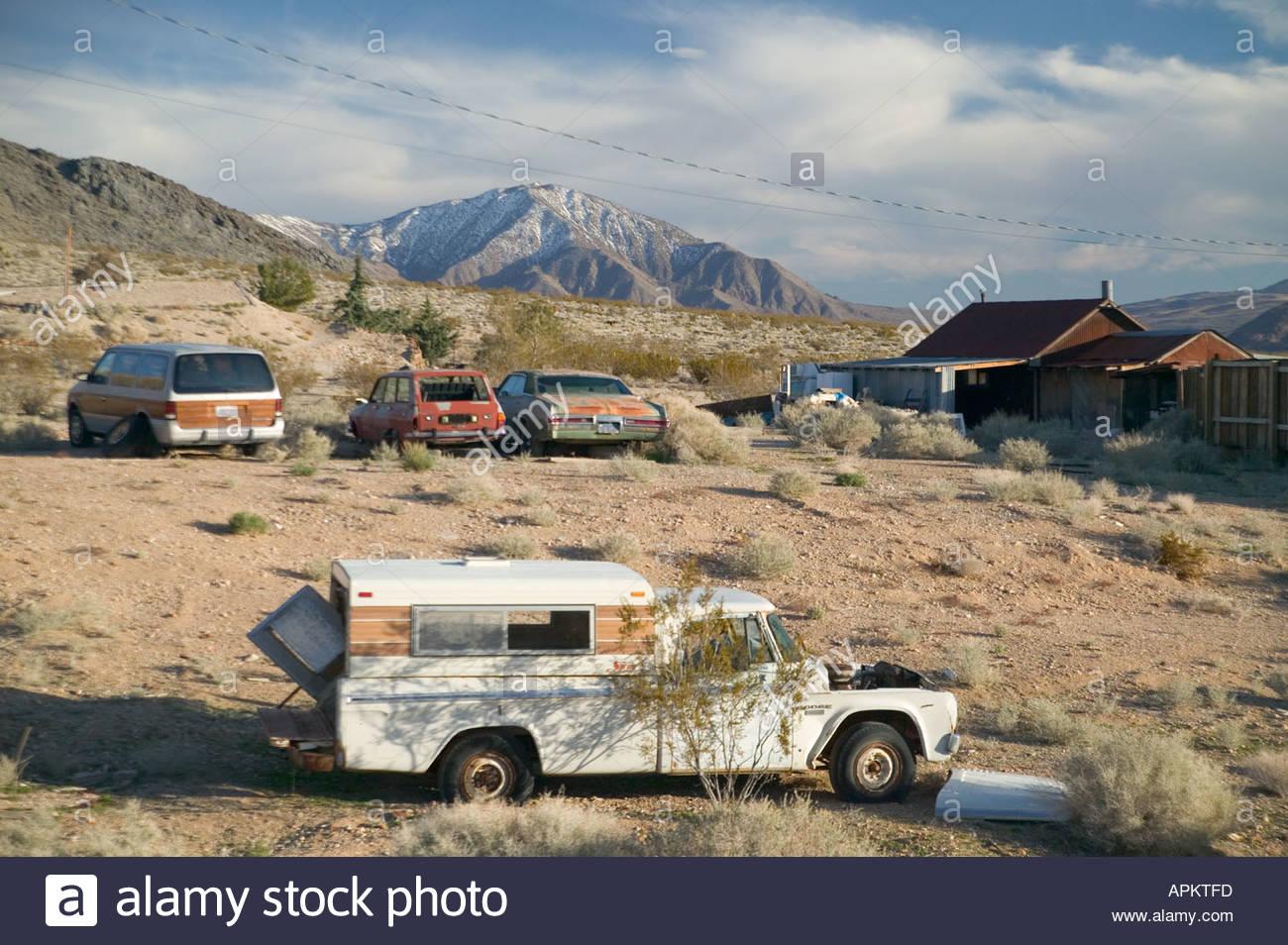 Junk cars. (Darwin, California, USA Stock Photo: 5164284 - Alamy