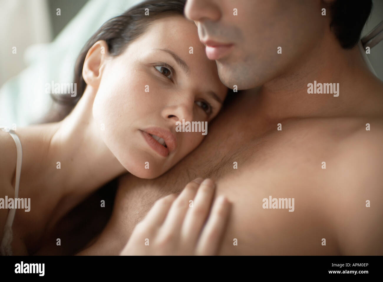 Mans chest touching woman 12 Signs