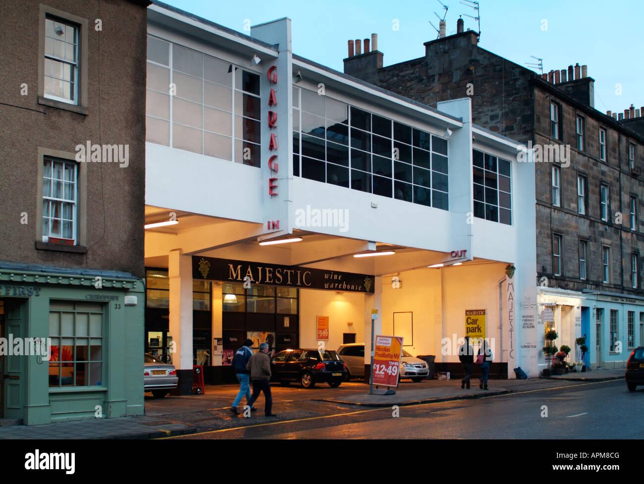 The former Southern Motors Garage, 35 Causewayside, Edinburgh