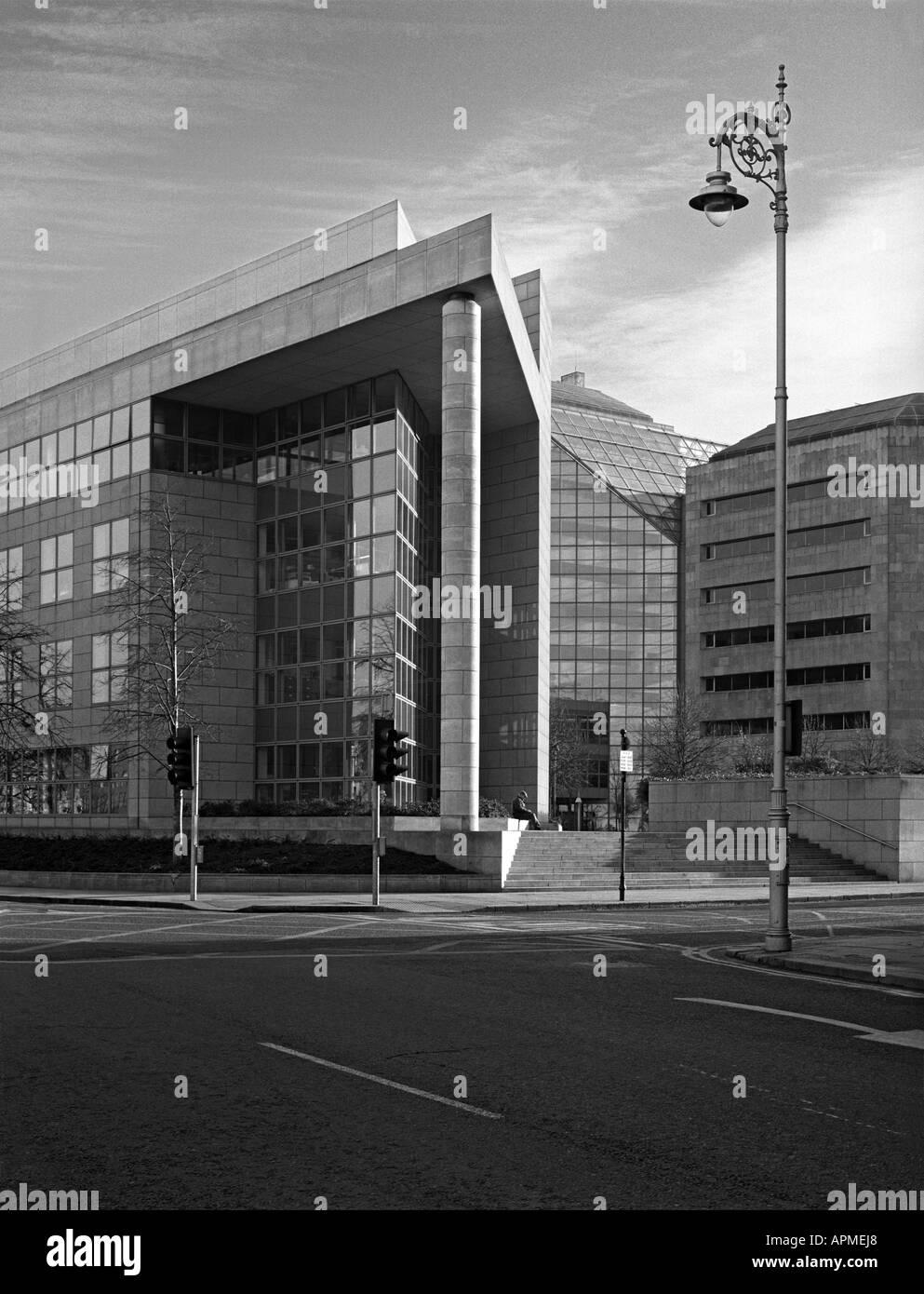 Modern Dublin architecture, Dublin City Council - Stock Image