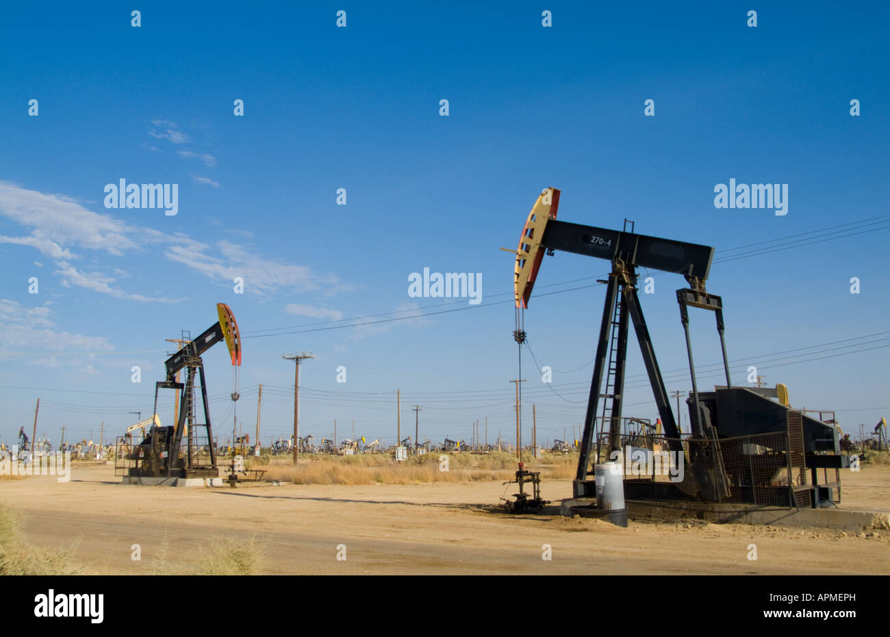 Lost Hills Oil Field