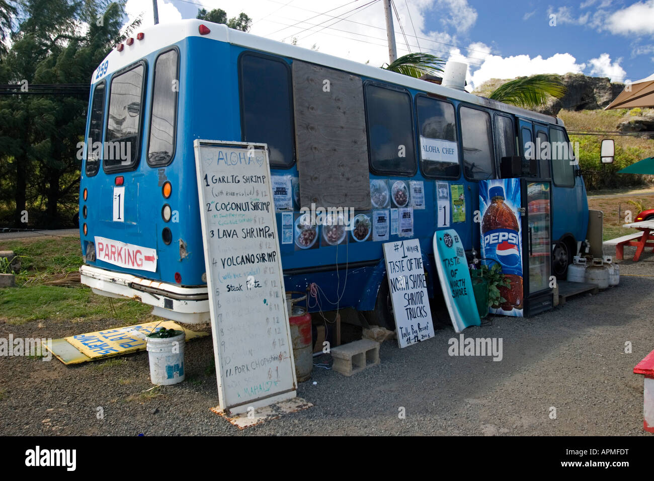 Food Trucks Hawaii Stock Photos & Food Trucks Hawaii Stock Images ...