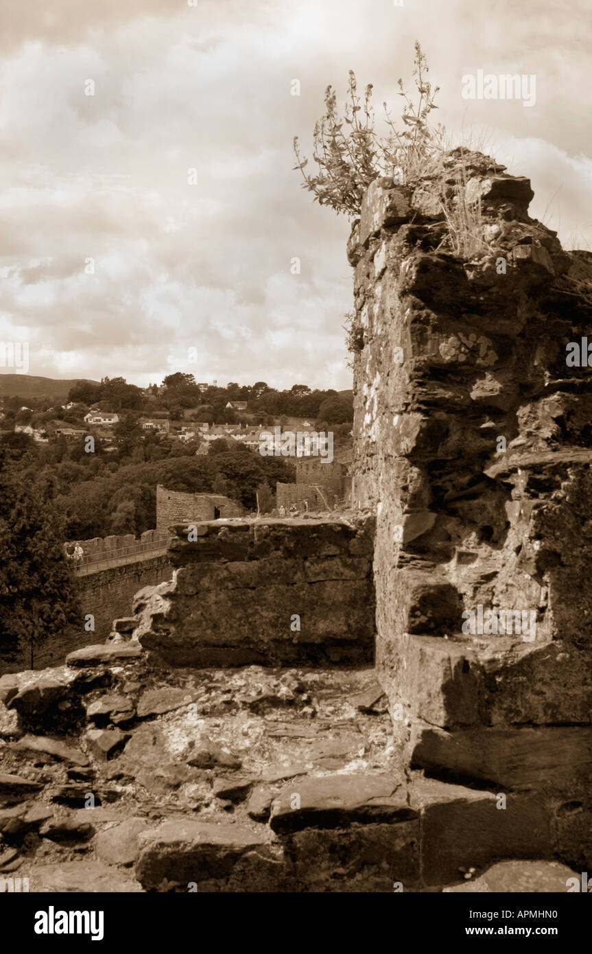 View From Conway Castle - Stock Image