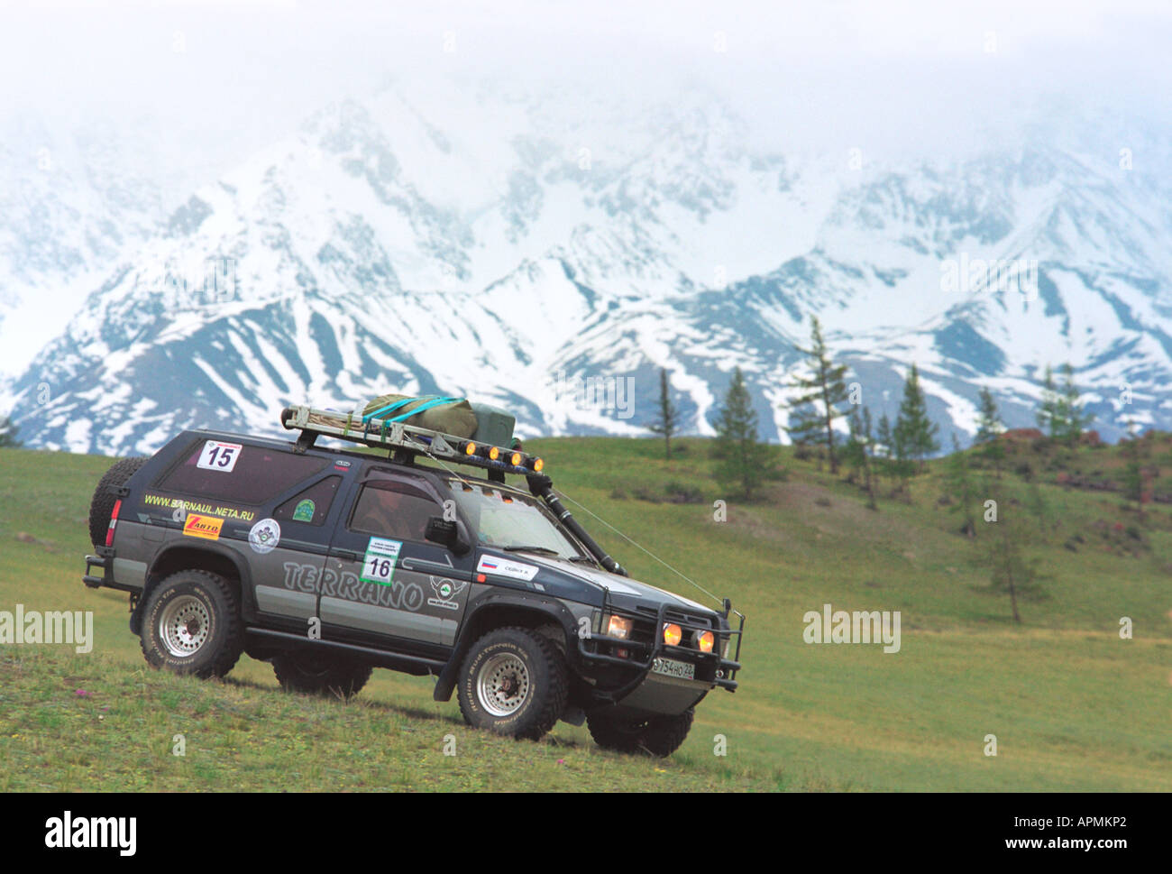 Nissan Terrano High Resolution Stock Photography And Images Alamy