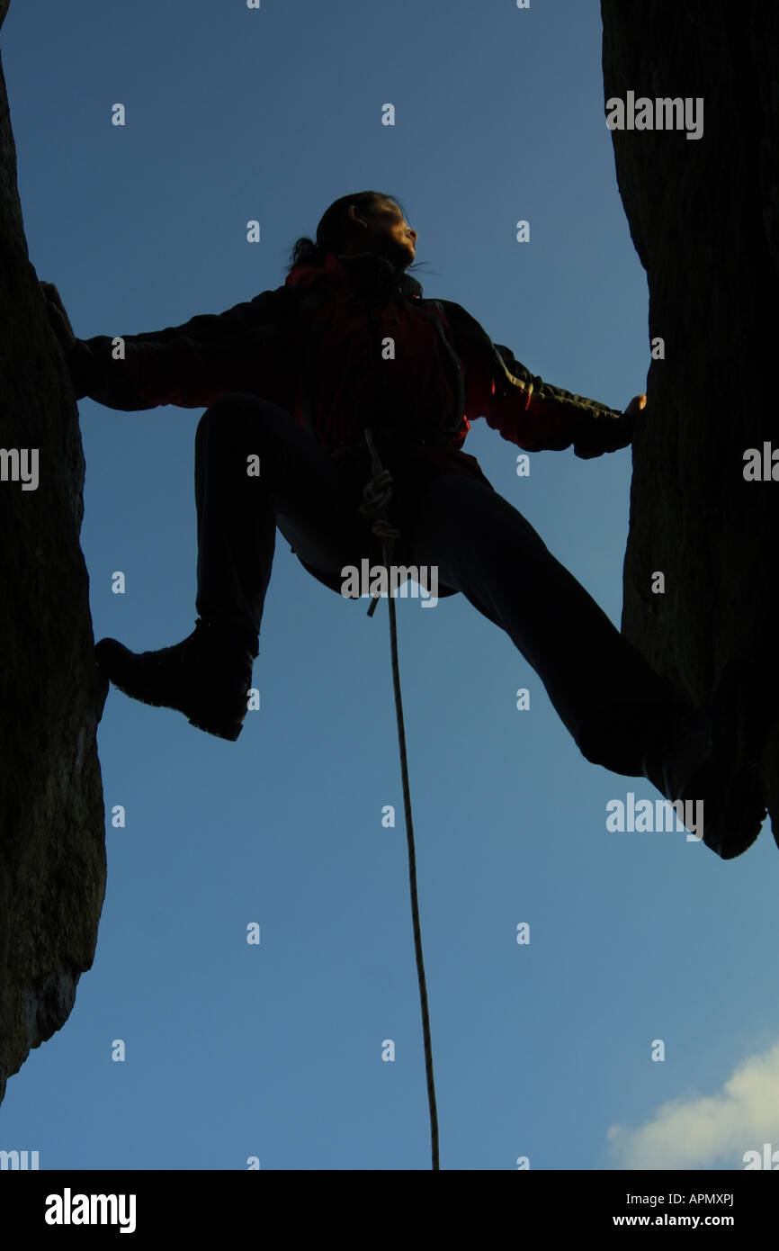 Llanberis Mountain Rescue Team Snowdonia - Stock Image