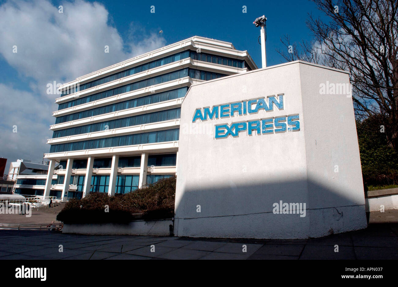 Corporate HQ of AMEX UK Stock Photo - Alamy