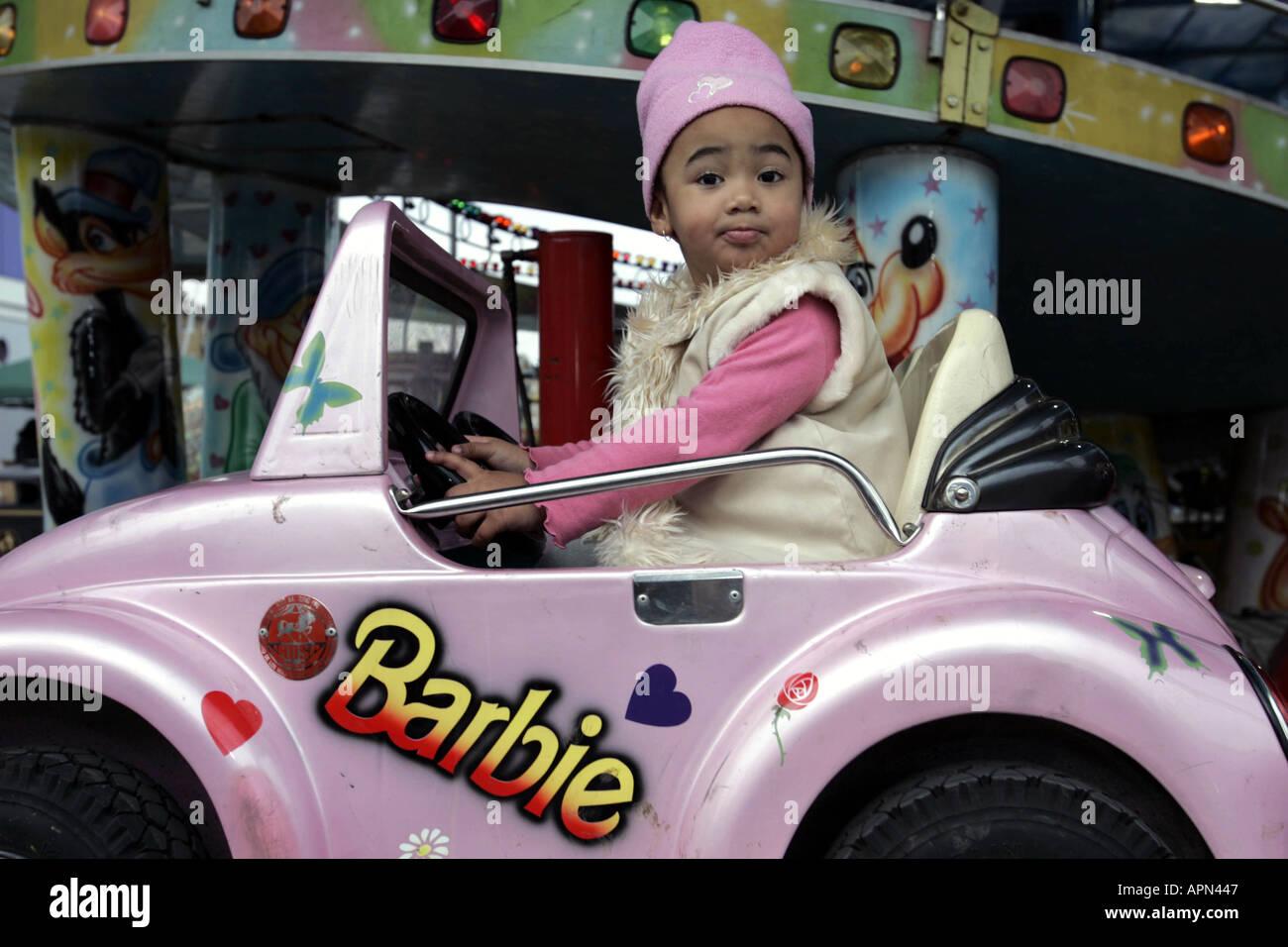Barbie Electric Car: Barbie Car Stock Photos & Barbie Car Stock Images