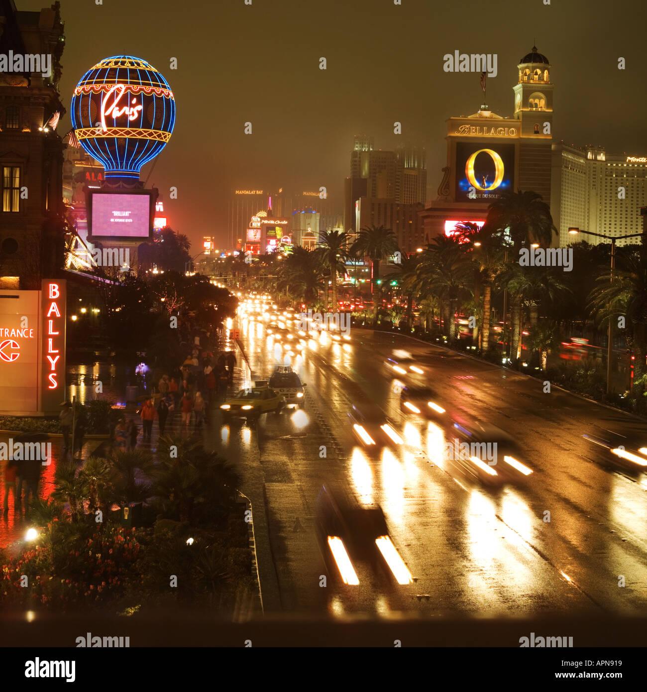 The Strip Las Vegas USA - Stock Image