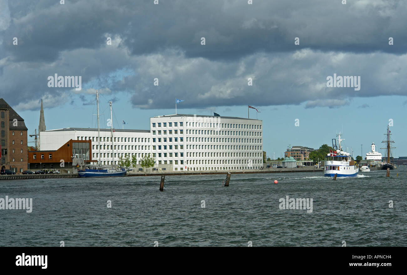 World Headquarters of shipping company A P Moller - Maersk at Nordre Toldbod in Copenhagen Stock Photo