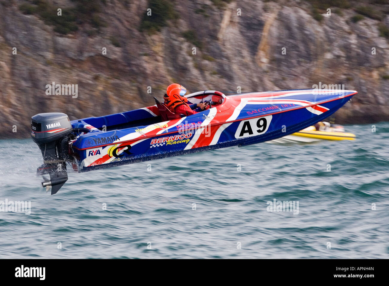Offshore Circuit Racing Bernico No. A9 Racing at Torquay England - Stock Image