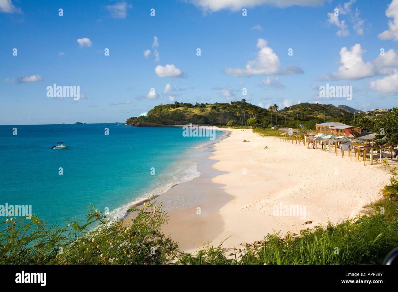 Darkwood Beach in Antigua Caribbean Stock Photo