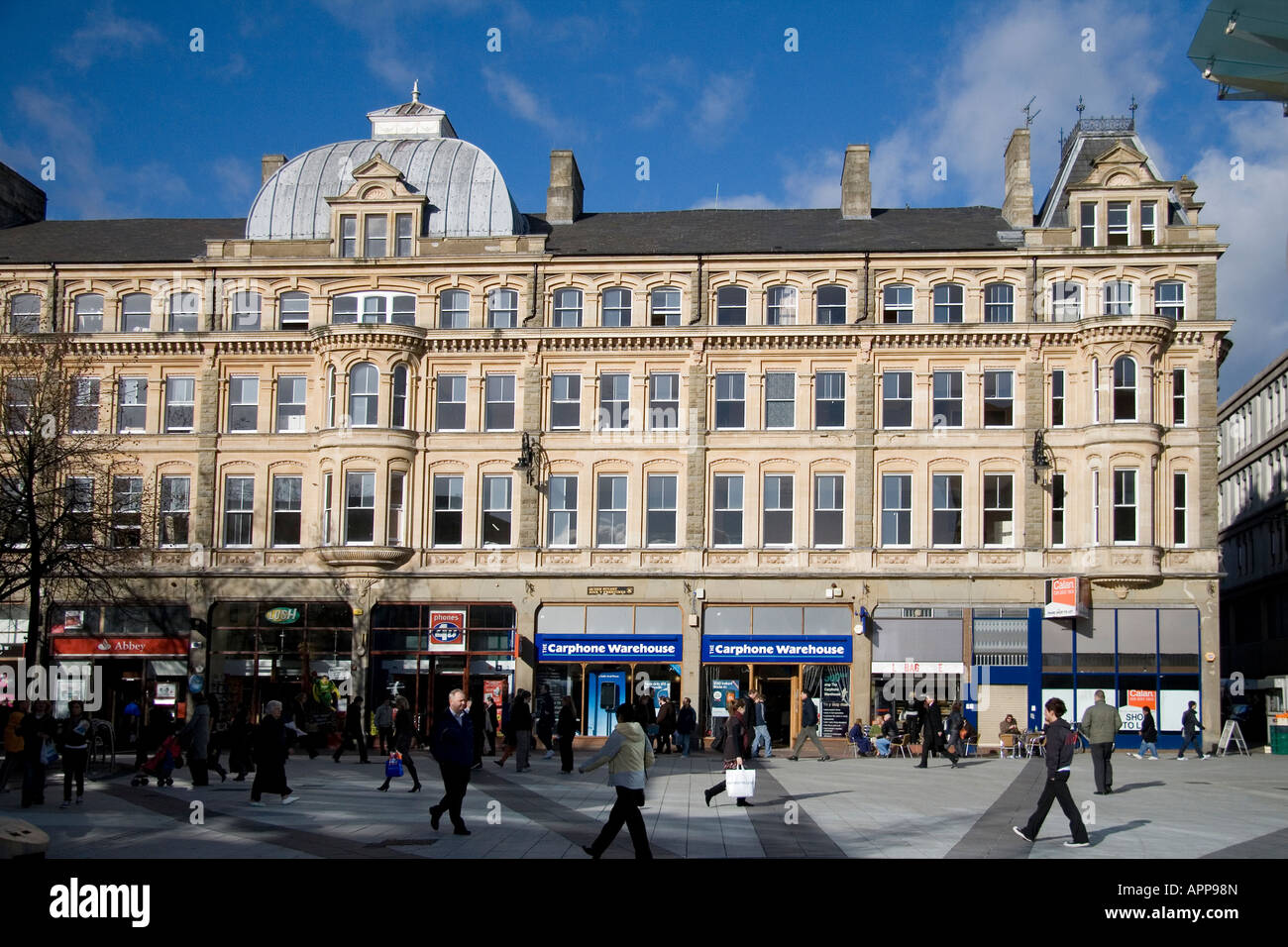 The Thistle Hotel Queen St Cardiff - Stock Image