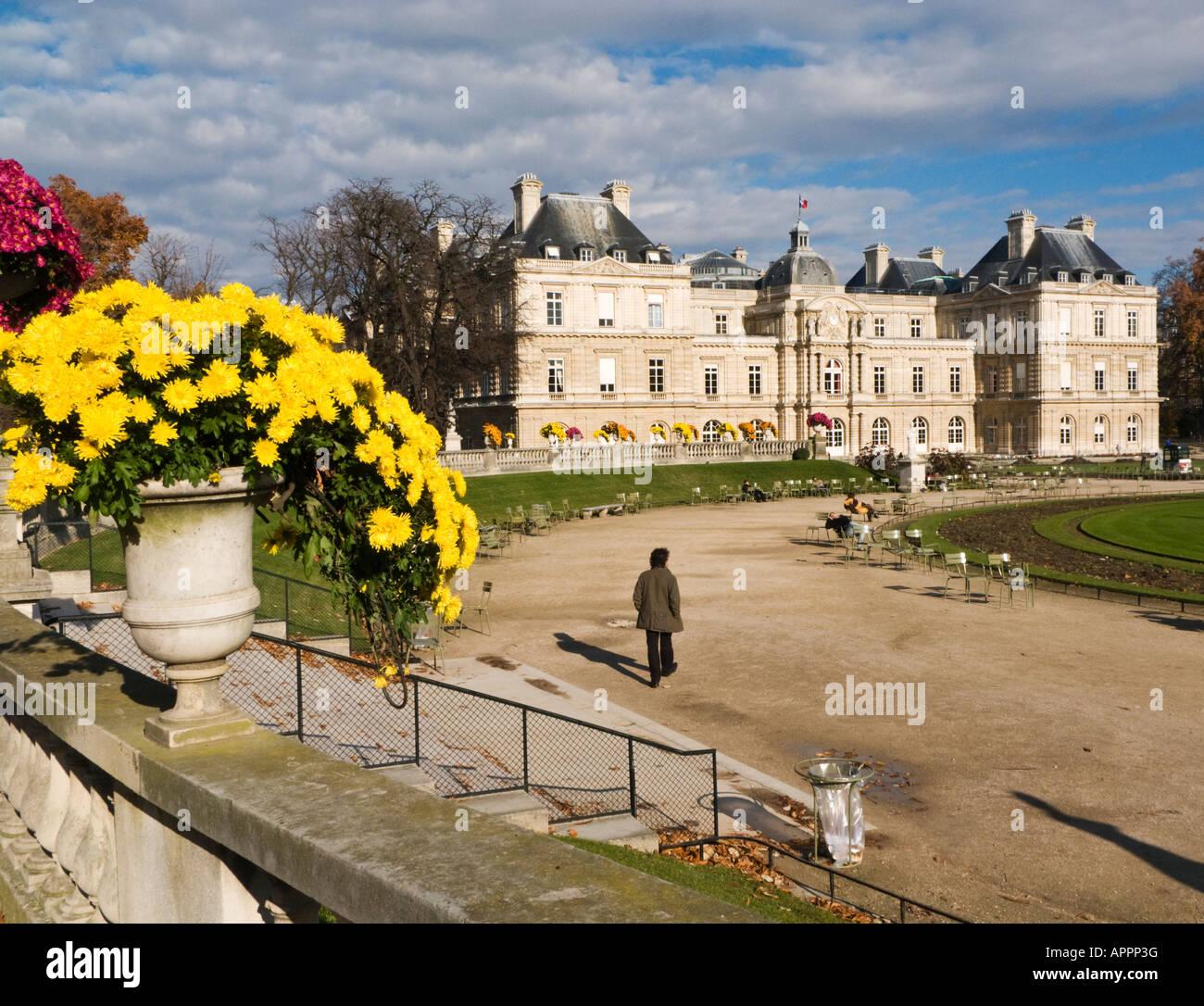 Jardin du Luxembourg, Paris - Stock Image