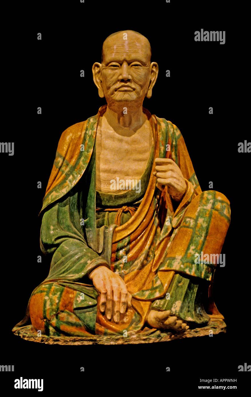 Lohan  China Chinese Liao Dynasty 11 Century - Stock Image
