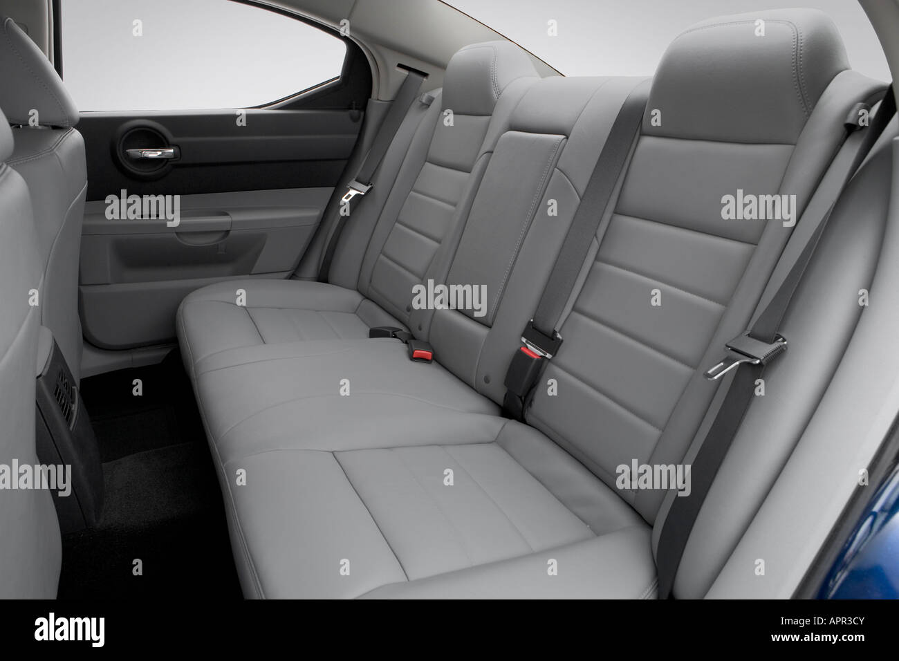 2006 Dodge Charger Sxt In Blue Rear Seats Stock Photo Alamy