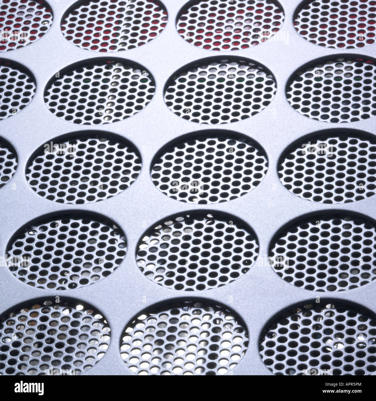 metal grill graphic Stock Photo
