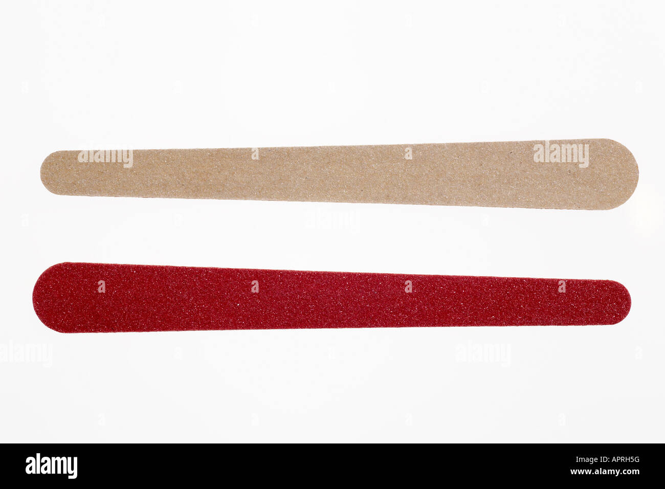 Emery boards - Stock Image