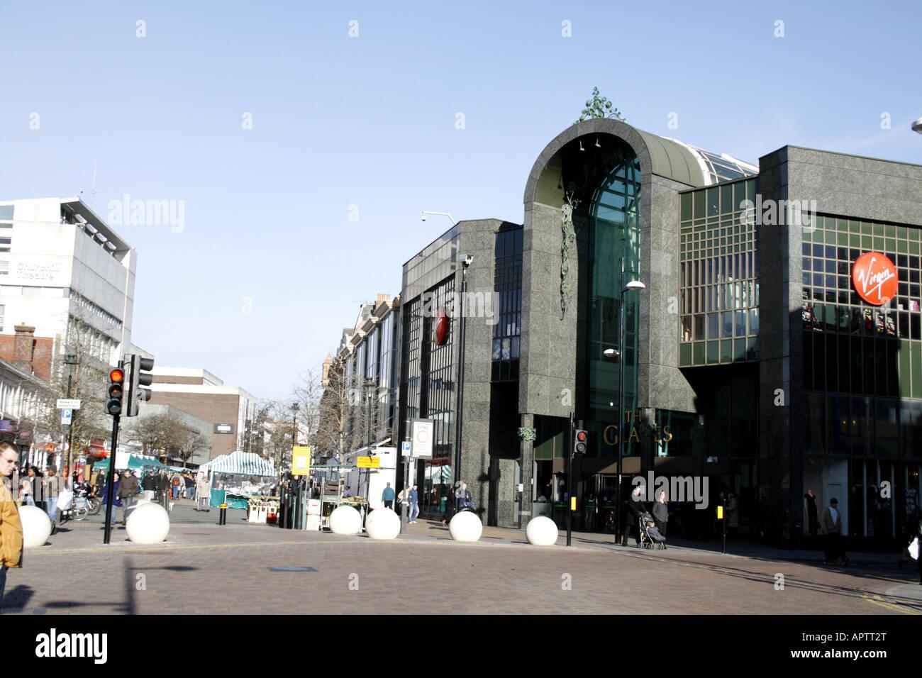 bromley high street kent uk - Stock Image