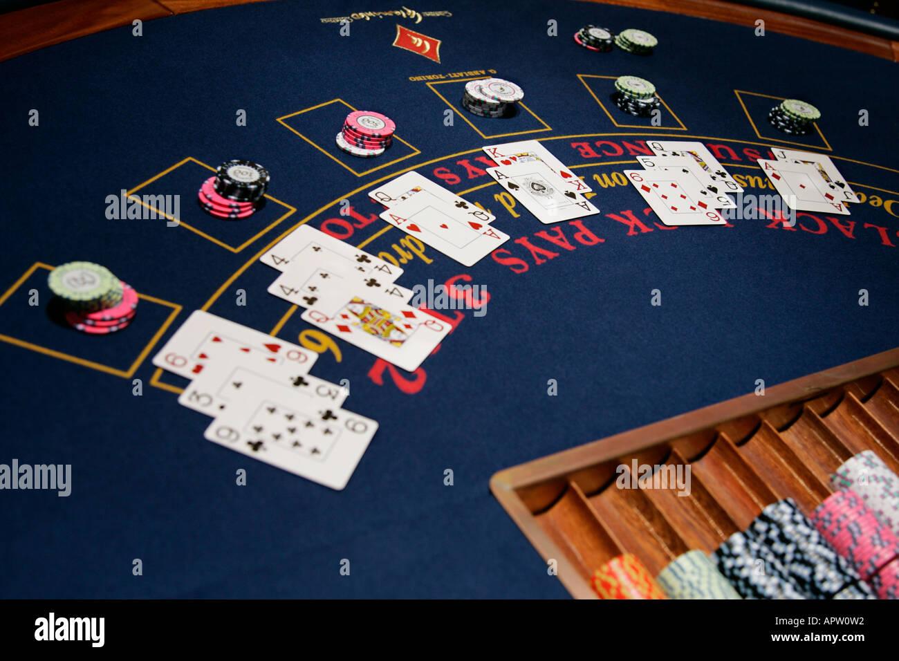 roulette wheel betting table for blackjack