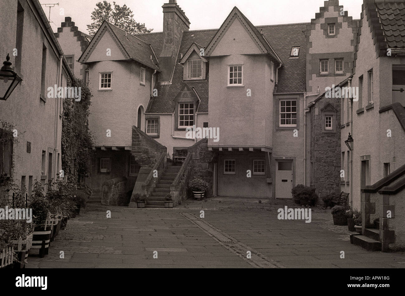 Whitehorse Close, Edinburgh, Old Town, Scotland, UK Stock Photo