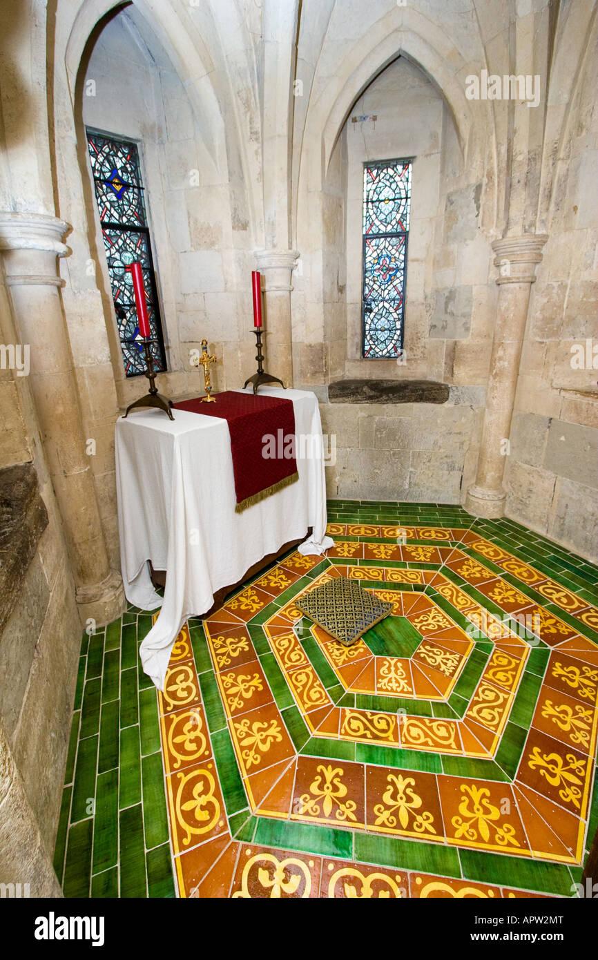 King's prayer room tower of London London UK Stock Photo