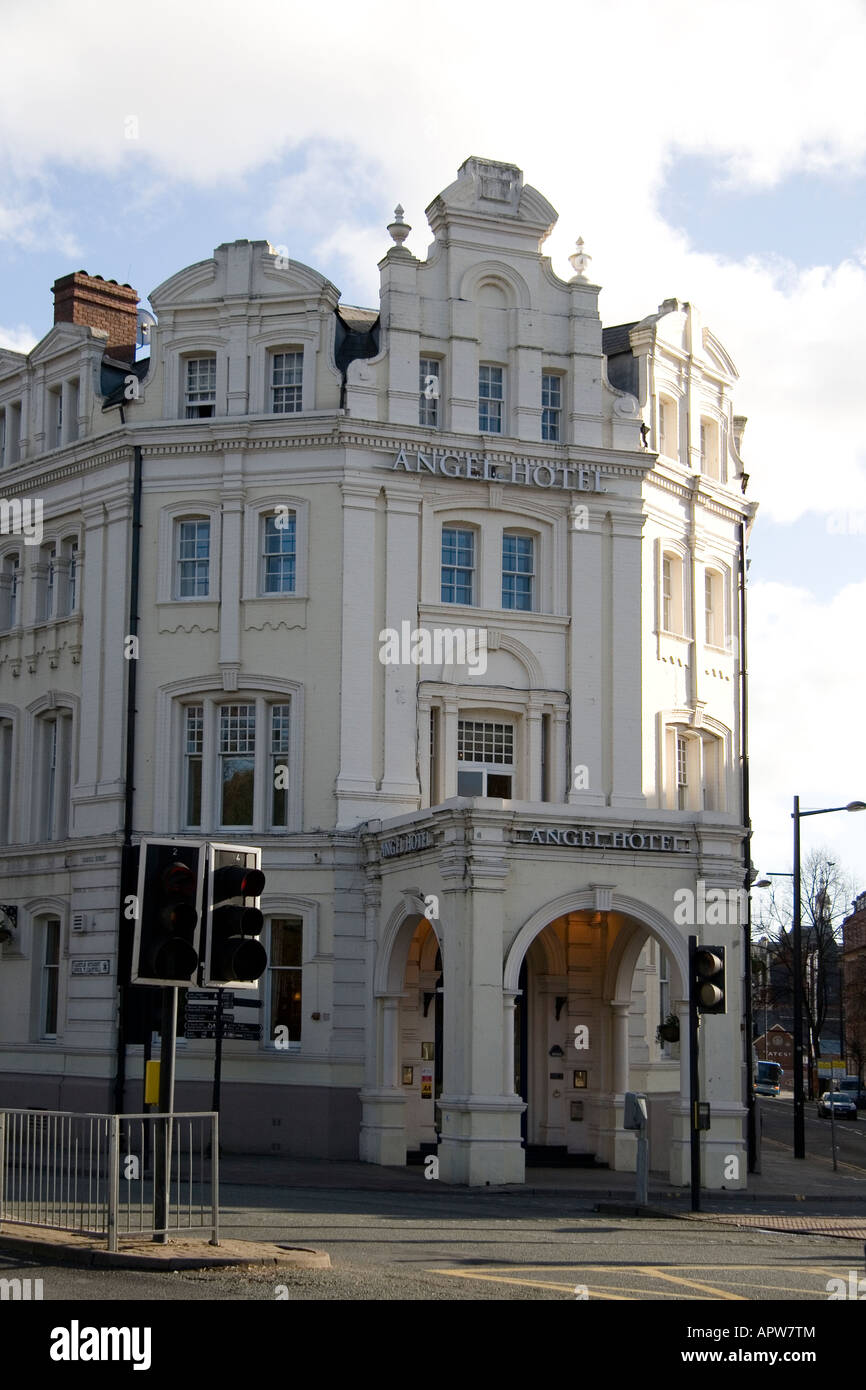 The Angel Hotel Castle St Cardiff - Stock Image