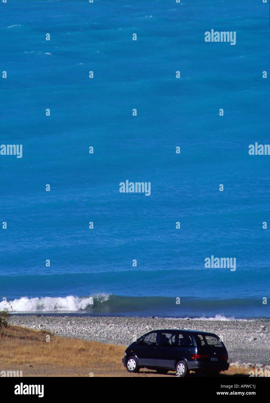 New Zealand, NZ lake - Stock Image