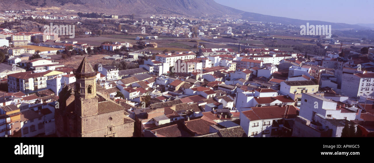 The town of Loja in Andeluccia, Southern Spain - Stock Image