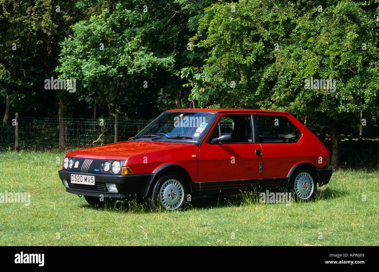 Fiat Strada  Abarth 130 TC Introduced 1984. (Strada 1979 to 1988) - Stock Image