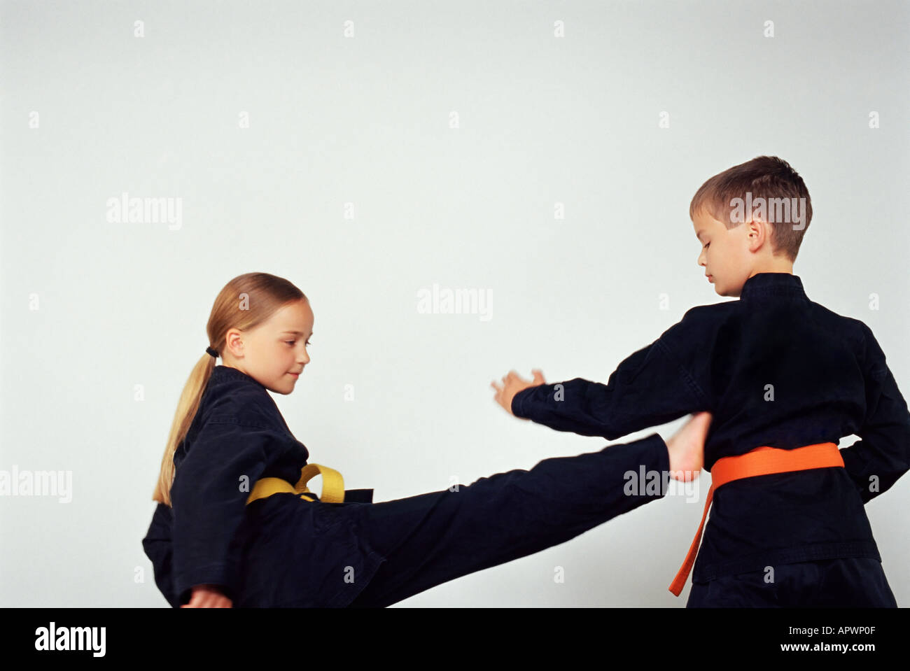 Martial Art Girl Stock Photos & Martial Art Girl Stock Images - Alamy