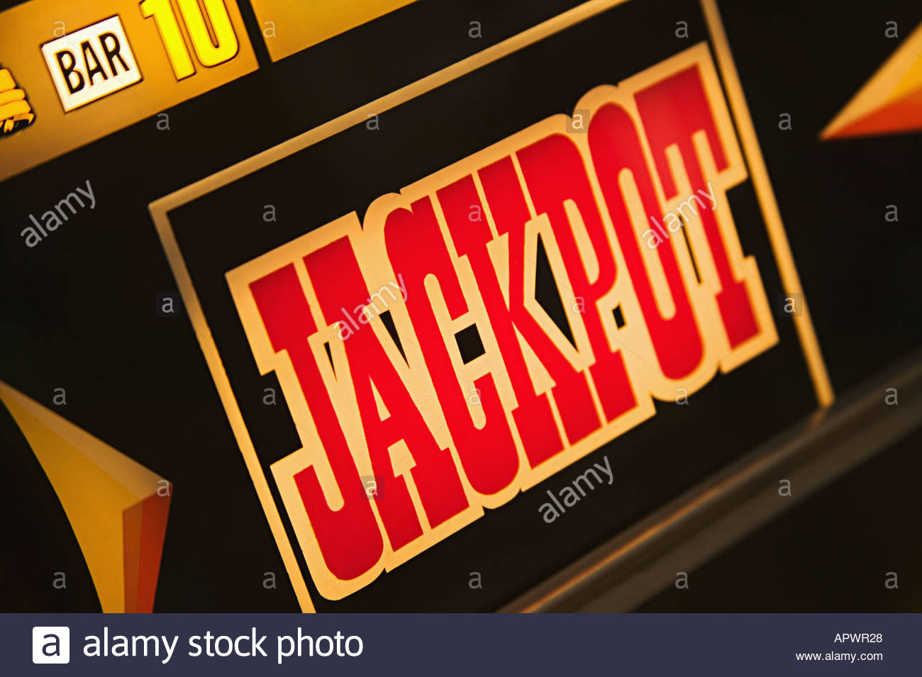 Jackpot - Stock Image