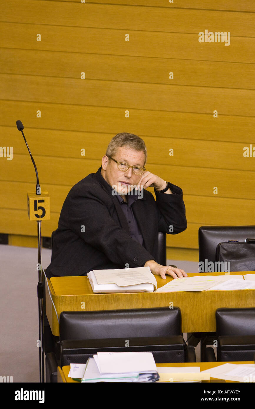 Oswald Metzger, a politician - Stock Image